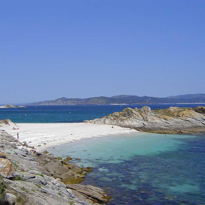 isla cíes Travel to galicia