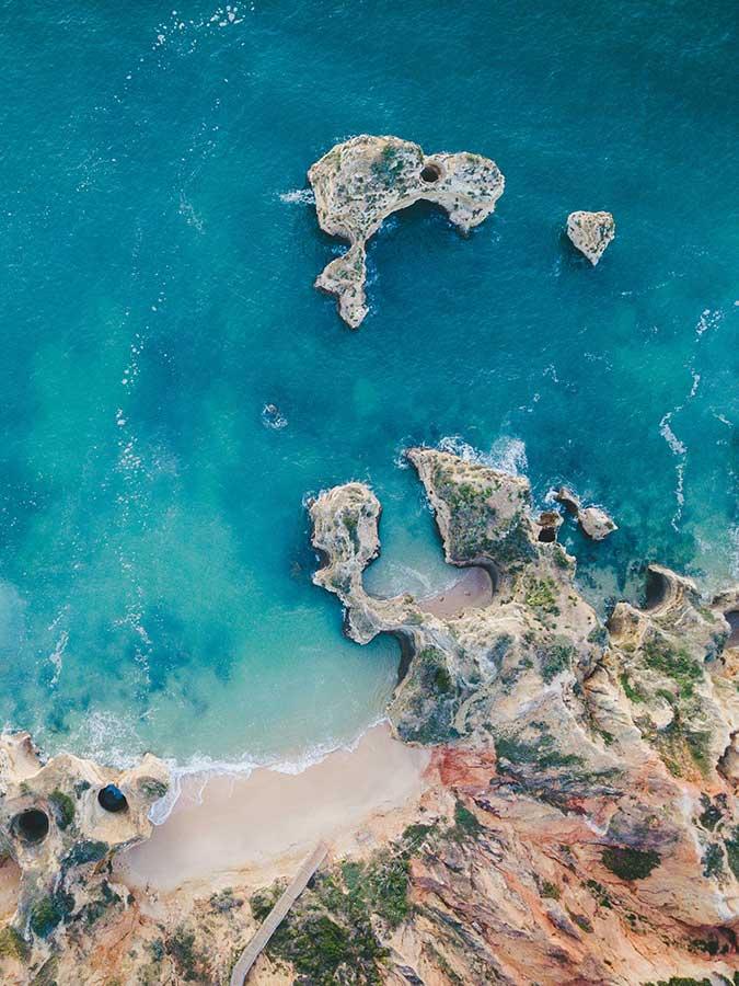 Travel to Algarve