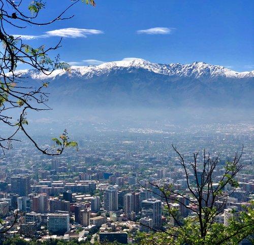 Travel to Santiago - Cerro San Cristobal