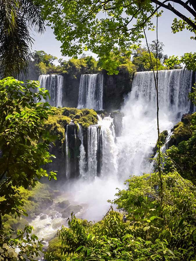 Travel to Iguazu