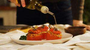 Pomodori Ripieni - Rice stuffed tomato